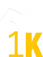 1K Man March logo